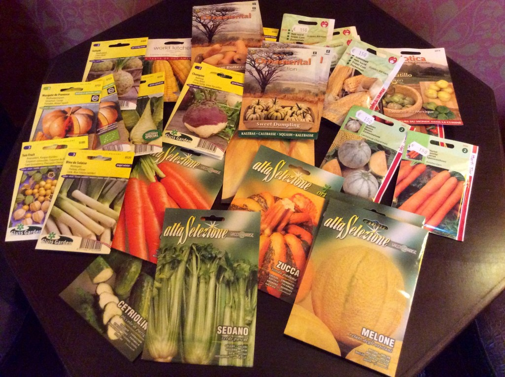 A selection of useful seeds for the coming season