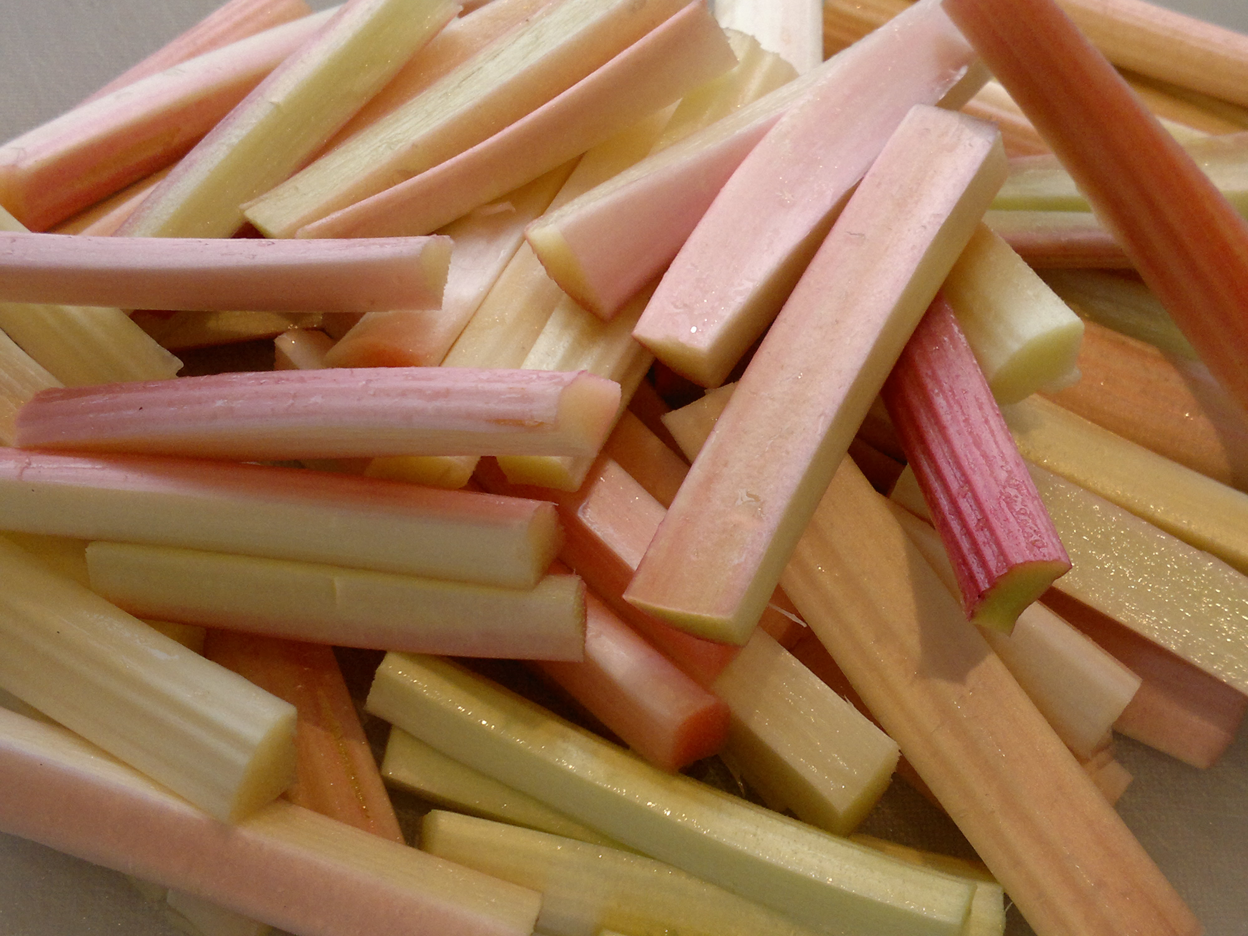 Forced rhubarb - a spring treat
